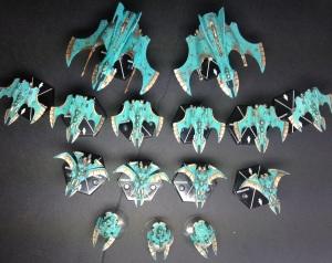 My aeronautia Imperialis Eldar fleet