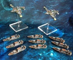 Prussian Dystopian wars fleet