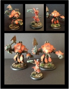 Khador bits from War Machine