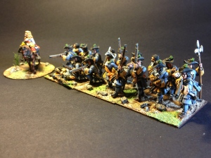 Some Dutch War of Spanish Succession Troops