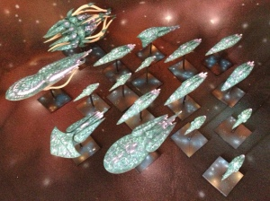 Aquan fleet from Firestorm Armada