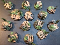 Airbrushed Base coats