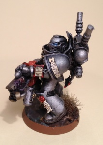 Level 2 Grey Knight on Type 1 base